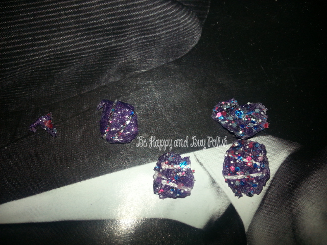 Nail Pattern Boldness Glitter a Peel and Glitter Food, I Love Nail Polish Clown Business, A England Lady of the Lake
