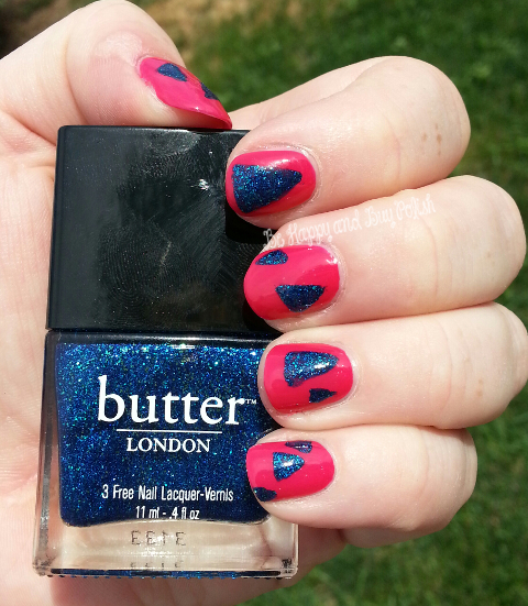 butter LONDON inky six and Snog
