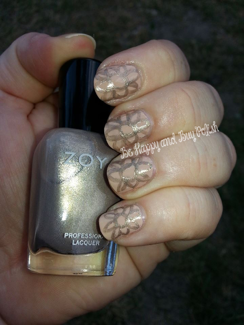 OPI Don't Pretzel My Buttons and Zoya Jules