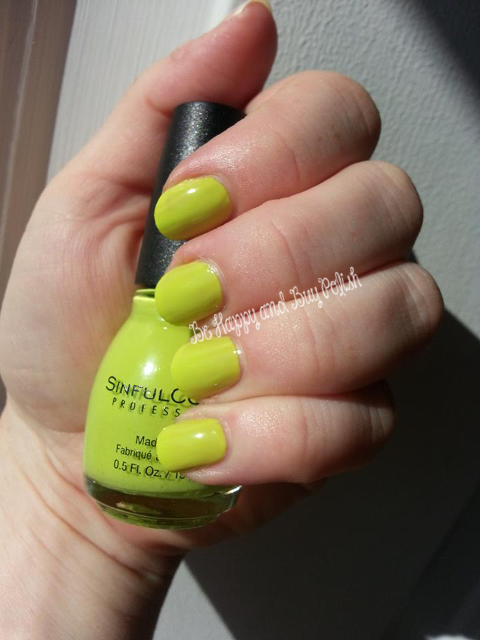 Sinful Colors High Strung