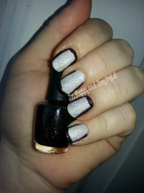 OPI Stay the Night and OPI Solitaire