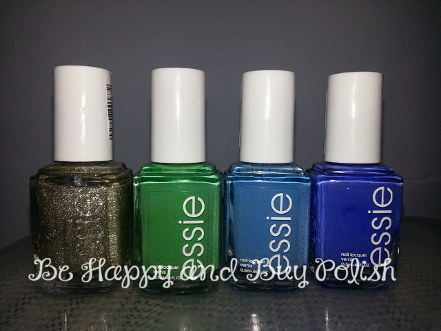essie beyond cozy, mojito madness, avenue maintain, butler please