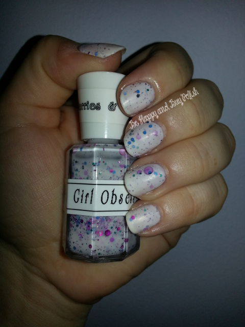 A Girl Obsessed Berries & Cream