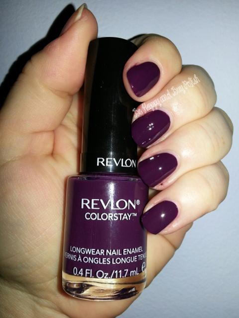 Revlon ColorStay Nail Enamel, part two | Be Happy and Buy Polish