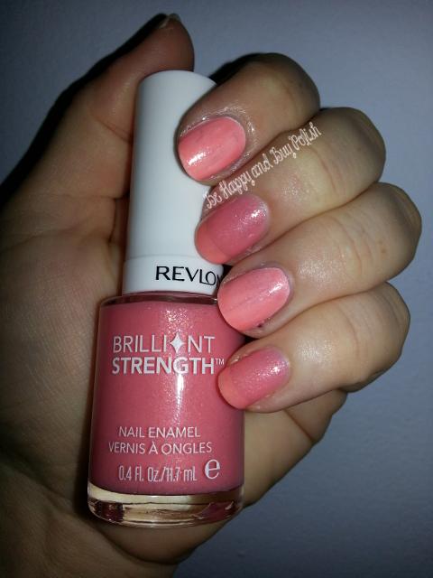 Revlon Brilliant Strength Nail Enamel   Be Happy and Buy Polish