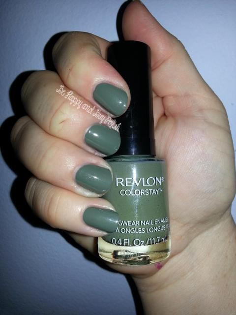 Revlon ColorStay Nail Enamel, part two   Be Happy and Buy Polish