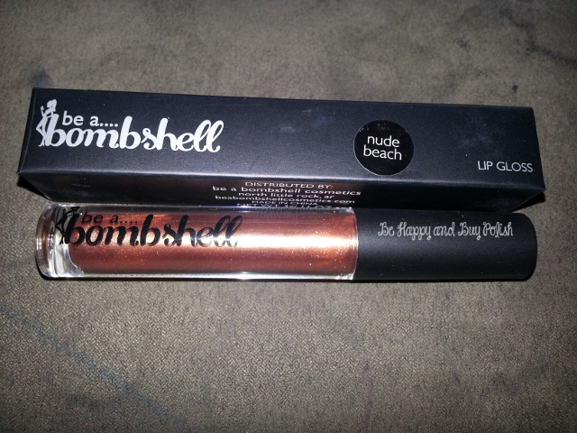 Bombshell Lip Gloss in Nude Beach