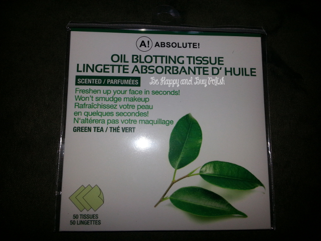 Absolute Oil Blotting Tissue