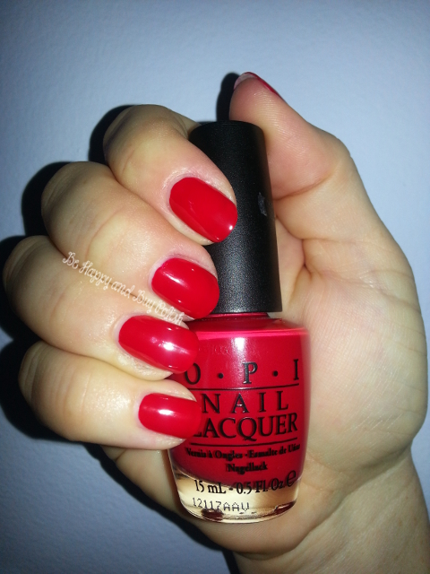 OPI Color So Hot It Berns