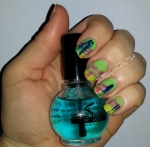 Sally Hansen Perfect Pearing, Orly In the Navy, Orly Purple Crush, Orly Melodious Utopia