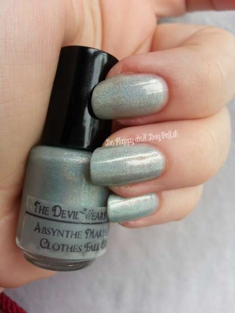 "The Devil Wears Polish ""Absynthe Makes My Clothes Fall Off"""