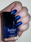 OPI Unfor-greta-bly Blue, butter LONDON inky six