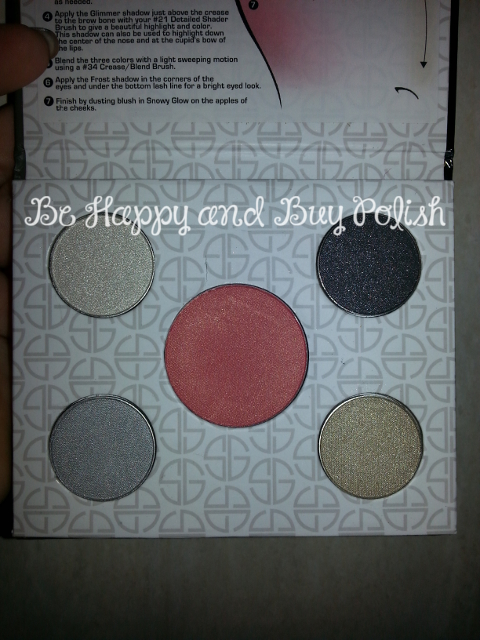 Studio Gear Holiday makeup palette