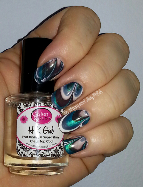 Wet N Wild A Blank Canvas, Wet N Wild Caribbean Frost, Sally Hansen Gunmetal, Sally Hansen Grey Area