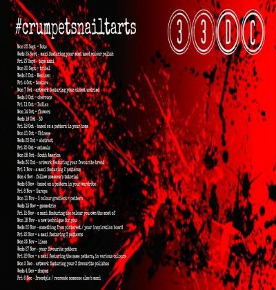 Crumpet's 33 Day Challenge