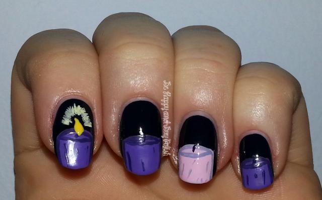 Advent manicure