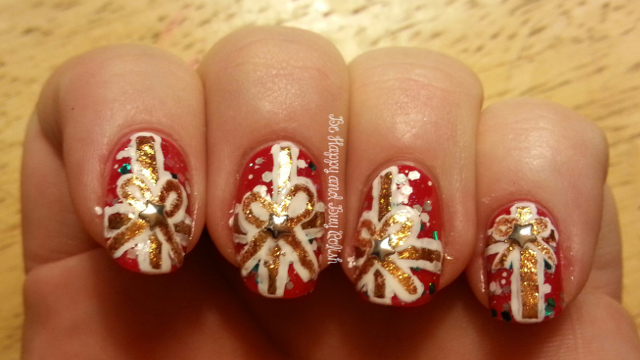 OPI Color So Hot It Berns, OPI Goldeneye, OPI Alpine Snow, ILNP Up to Snow Good