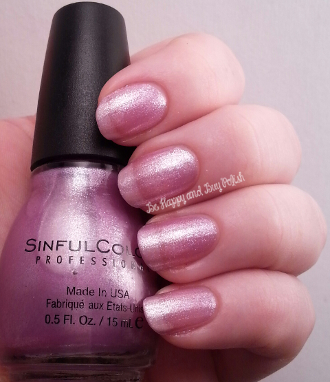 Sinful Colors Purple Diamond