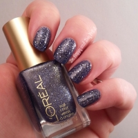L'Oreal Gold Dust Nail Polish: Too Dimensional
