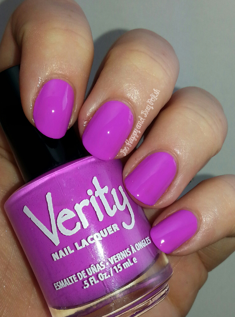 Verity Nail Lacquer Lilac Cream Be Happy And Buy Polish