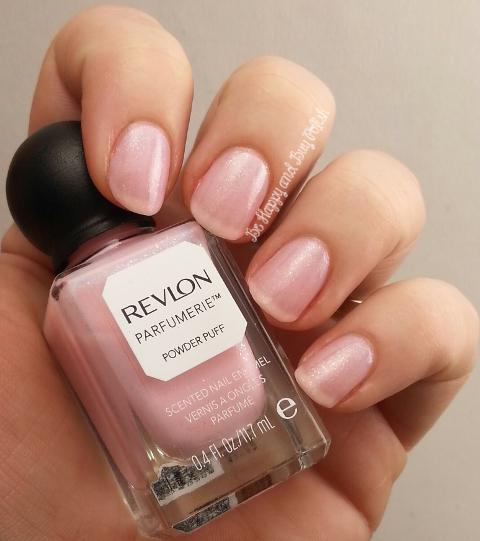 Powder Nail Polish: Revlon Parfumerie Powder Puff Nail Polish