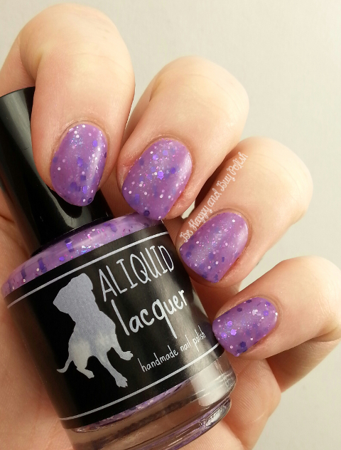 ALIQUID Lacquer Stop and Smell the Orchids | Be Happy And Buy Polish