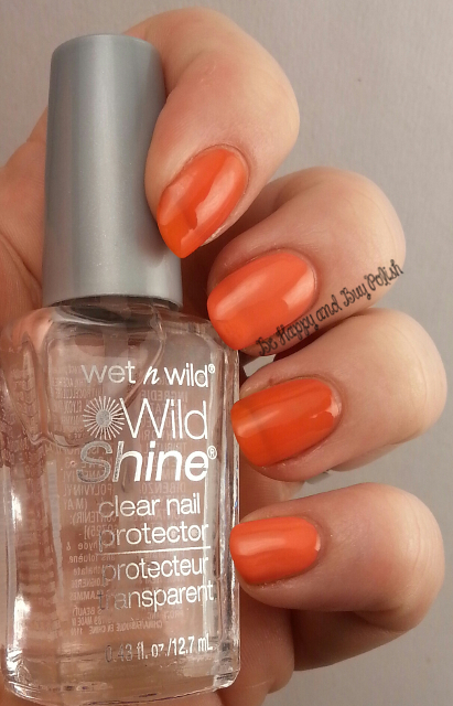 Wet N Wild Wild Shine Cursed, A Clock Strikes Orange | Be Happy And Buy Polish