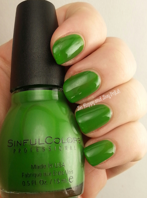 Sinful Colors Exotic Green | Be Happy And Buy Polish