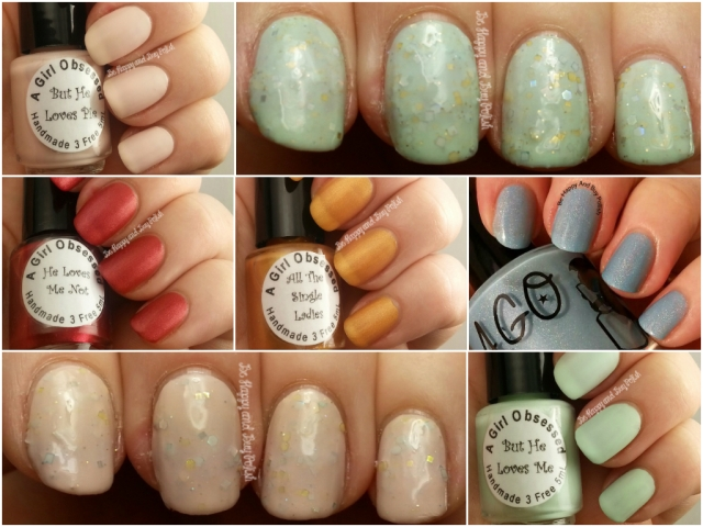 A Girl Obsessed collage | Be Happy And Buy Polish
