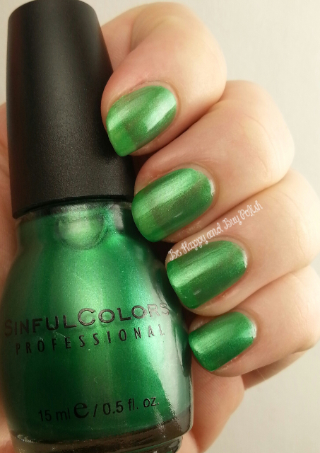 Sinful Colors HD Nails | Be Happy And Buy Polish