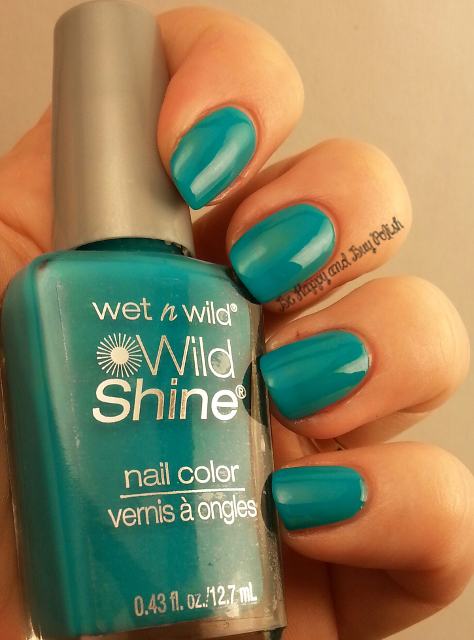 Wet N Wild Wild Shine Here Comes Trouble | Be Happy And Buy Polish