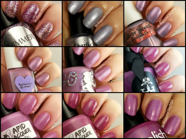 Indie Polishes Radiant Orchid | Be Happy And Buy Polish