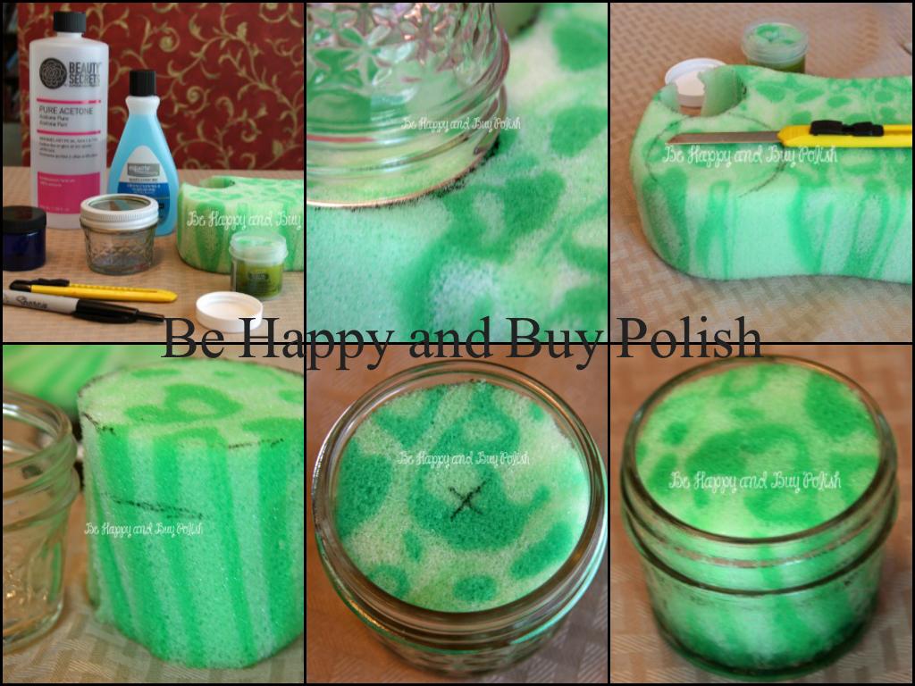 DIY Nail Polish Remover Jar  Be Happy and Buy Polish