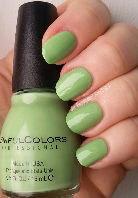 Sinful Colors Pistache | Be Happy And Buy Polish