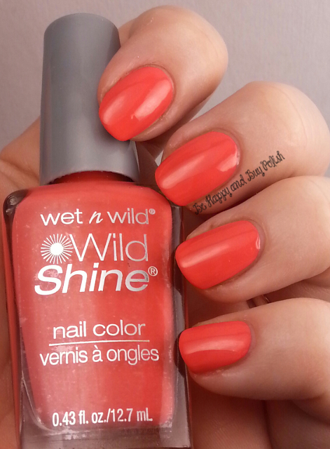 Wet N Wild Wild Shine Temptation | Be Happy And Buy Polish