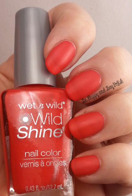 Wet N Wild Wild Shine Too Hot For You | Be Happy And Buy Polish