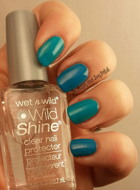 Wet N Wild Wild Shine Here Comes Trouble, Listening to Blue Reed | Be Happy And Buy Polish