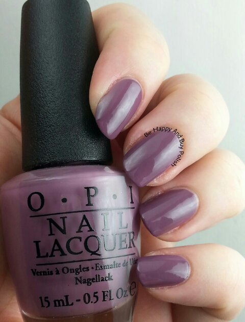 OPI I'm Feeling Sashy | Be Happy And Buy Polish
