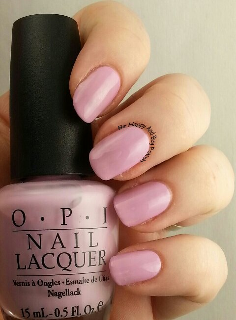 OPI Panda-Monium Pink | Be Happy And Buy Polish