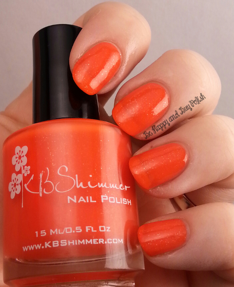 KBShimmer 24 Carrot Bold | Be Happy and Buy Polish