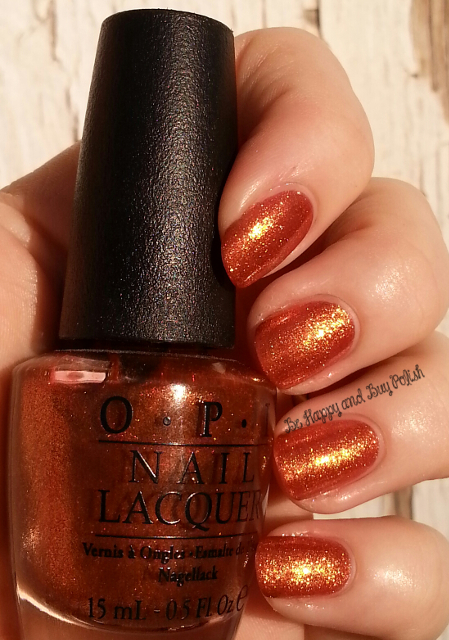 OPI A Woman's Prague-ative | Be Happy And Buy Polish