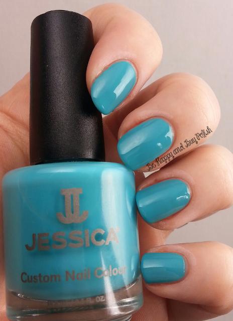 Jessica Cosmetics Argon Blue | Be Happy And Buy Polish