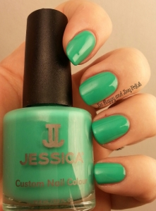 Jessica Cosmetics Dynamite Teal | Be Happy And Buy Polish