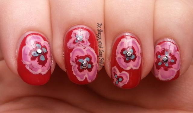 Floral Nail Art | Be Happy And Buy Polish