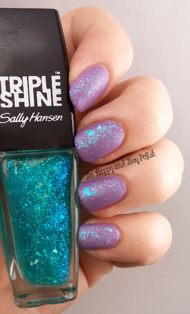 Sally Hansen Triple Shine Hypnautical, Sally Hansen Violet Vintage | Be Happy And Buy Polish