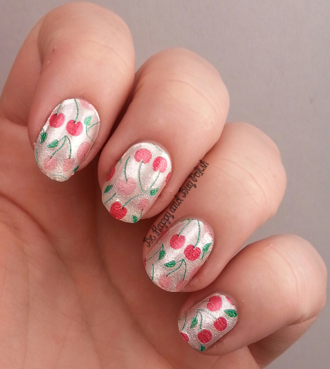 Incoco Nail Polish Strips Cherry Jubilee | Be Happy and Buy Polish