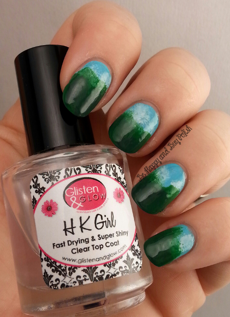 Irish landscape nail art | Be Happy And Buy Polish