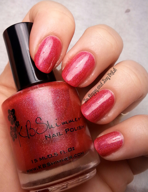 KBShimmer Whole Lava Lovin | Be Happy And Buy Polish