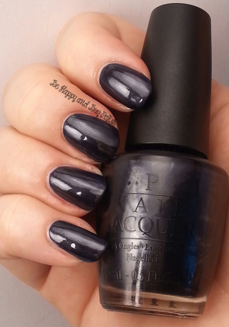 OPI Light My Sapphire | Be Happy And Buy Polish