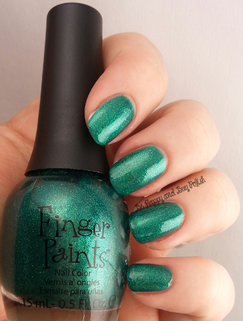 FingerPaints Our Tips are Tealed | Be Happy And Buy Polish